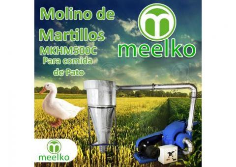 (Pato) Molino triturador de biomasa a martillo eléctrico hasta 1500 kg hora - MKH500C-C