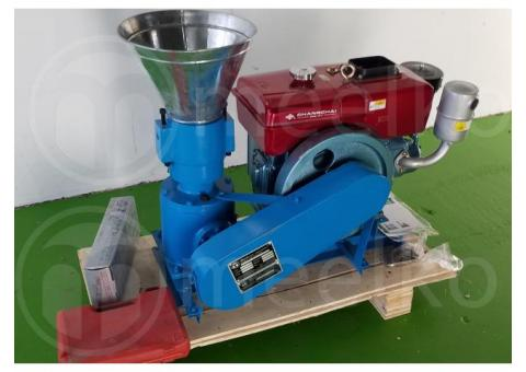 150mm 8 hp Diesel para alfalfas y pasturas Peletizadora 120-150kg/h - MKFD150A