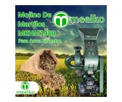 (Arroz Silvestre) a martillo Molino triturador de biomasa eléctrico 360 kg - MKH198B