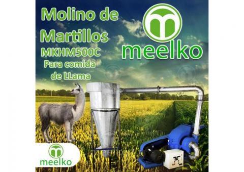 (Llama) Molino de biomasa a martillo eléctrico hasta 1500 kg hora - MKH500C-C