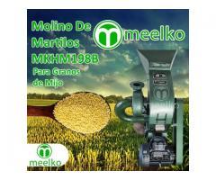 (Granos de Mijo) a martillo Molino triturador de biomasa eléctrico 360 kg - MKH198B