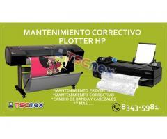 Reparación de plotter HP