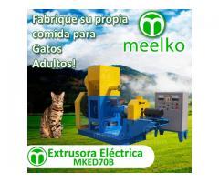 180-200kg/h 18.5kW - MKED070B Extrusora para pellets alimentacion gatos