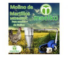 (Gallina) Molino de biomasa a martillo eléctrico hasta 1500 kg hora - MKH500C-C