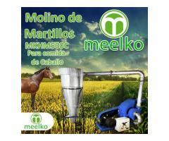 (Caballo) Molino de biomasa a martillo eléctrico hasta 1500 kg hora - MKH500C-C