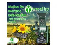 (Semillas de Girasol) a martillo Molino triturador de biomasa eléctrico 360 kg - MKH198B