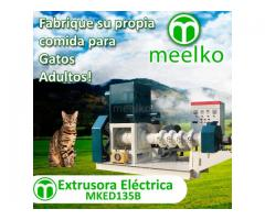 700-800kg/h 75kW - MKED135B Extrusora para pellets alimento de gatos