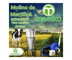(Vaca) Molino de biomasa a martillo eléctrico hasta 1500 kg hora - MKH500C-C