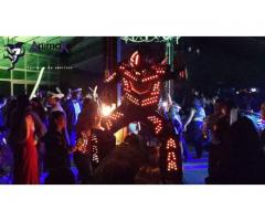 Robot Zanquero de Luces Para Fiestas..!