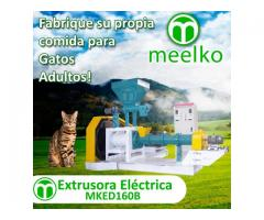 Extrusora para hacer alimentos de gatos 1000-1200kg/h 90kW - MKED160B