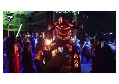Robot Zanquero para Fiestas/Eventos Zapopan