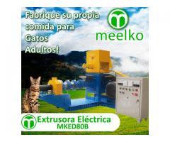 pellets alimentacion gatos Extrusora 200-250kg/h 22kW - MKED080B