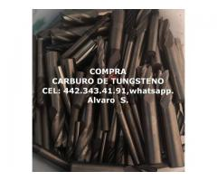 COMPRA  BROCA Y END MILL DE CARBURO DE TUNGSTENO