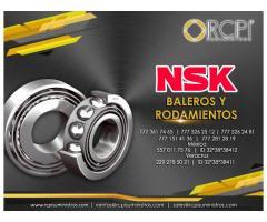 Refacciones y baleros NSK para grúas industriales