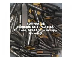 BROCAS DE CARBURO DE TUNGSTENO EN LEON