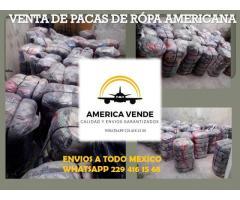 PACAS DE ROPA Y TENIS AMERICANOS