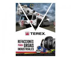Refacciones y piezas para grúas industriales Terex