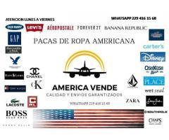 ROPA AMERICANA EN PACAS Y TENIS