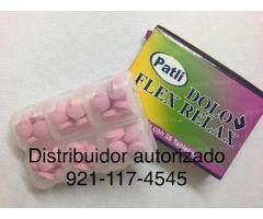 DOLO FLEX  RELAX  stock 5 pastilleros