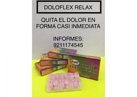 DOLO FLEX  RELAX  stock 10 pastilleros