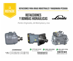 Componentes y Bombas hidráulicas  para maquinaria pesada