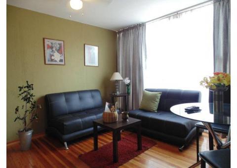 Renta de apartamento con dos habitaciones