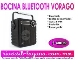 BOCINA BLUETOOTH VORAGO BSP-200