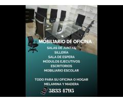 VENTA DE MUEBLES PARA OFICINA, RESTAURANTES, ESCUELAS