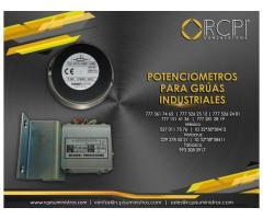 Potenciometros para grúas industriales