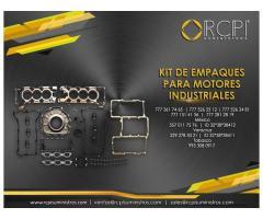kit de empaque para motores industriales