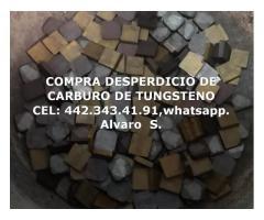 COMPRA DE CARBURO DE TUNGSTENO EN CIUDAD DE MEXICO