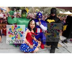 SHOW DE AVENGERS Y SUPERHEROES (Empresa Showyp)