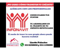 Gestionamos créditos de Infonavit