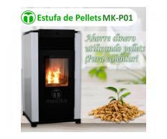 CALENTADOR DE AMBIENTE CON PELLETS MK-P01