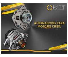 Alternadores para motores industriales