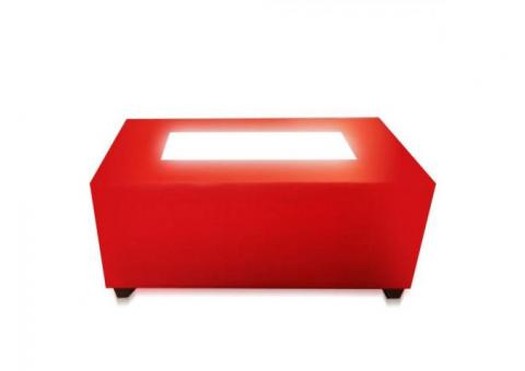 Mesa lounge iluminada mesas personalizadas muebles lounge mobydec