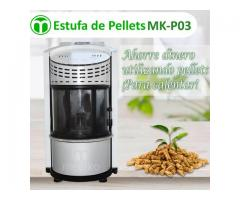 ESTUFA DE PELLETS MODELO MK-P03