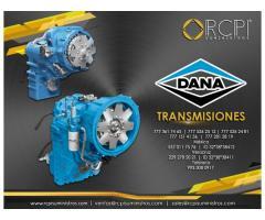 Transmisiones y refacciones Dana para grúas industriales