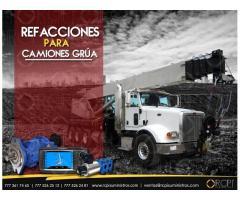 Refacciones para camiones grúa