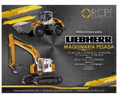 Refacciones para excavadoras Liebherr