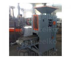 Briquetas de Carbonilla Procesada con la Máquina MKBC15