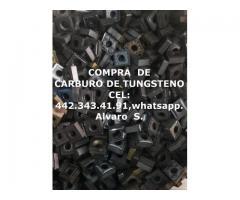 CORTADORES DE CARBURO DE TUNGSTENO EN PUEBLA