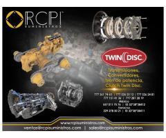 Refacciones twin disc para grúas industriales