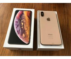 Apple iPhone XS 64GB por $450USD  , iPhone XS Max 64GB -por$480USD ,iPhone X 64GB por $350USD