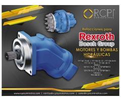 bombas y motores rexroth para gruas