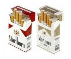 Venta y recuperación de cartuchos de cigarrillos de buena calidad