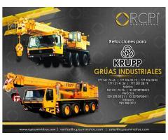 Repuestos para grúas industriales Krupp
