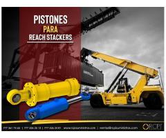 Pistones para reach stackers