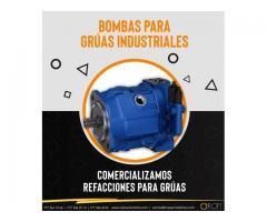 Bombas hidráulicas para grúas industriales