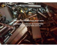 SCRAP DE CARBURO DE TUNGSTENO EN AGUASCALIENTES